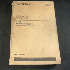 Caterpillar 3306 Vehicle Vehicular Engine Parts Manual Book S/N 3N1-3N24132 Cat