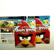 (MANUAL AND ARTWORK ONLY) (NO GAME) PS3 - Angry Birds Trilogy