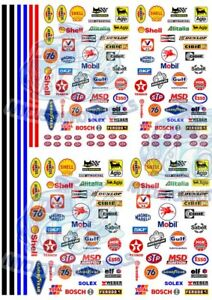 Racing Pack 1 - Race Stripes & Generic Racing Decals for Hot Wheels & 1:64 cars