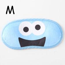 sesame street cookie monster anime cosplay eyepatch sleep mask eyeshade new
