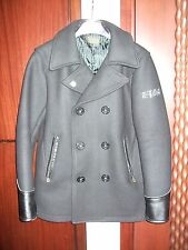 Crows Worst The Front of Armament Black Melton Wool Peacoat Offical TFOA Product