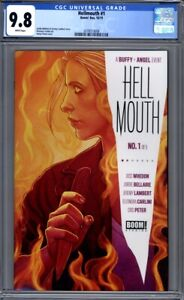 Hellmouth #1  Buffy the Vampire Slayer  Angel  Jenny Frison 1st Print  CGC 9.8