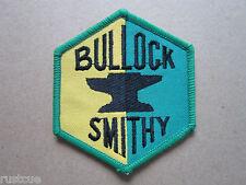 Bullock Smithy Walking Hiking Woven Cloth Patch Badge