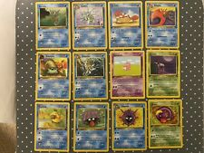 1st edition Fossil Pokemon card lot #5