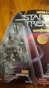 Star Trek Strikeforce Mini Figures - Borg Assimilation Team (7 figures)
