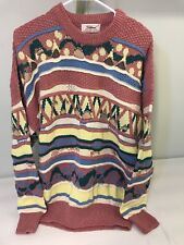 Titleist Corbin Men Size XL Pink Sweater Bill Cosby Crewneck Biggie Sweatshirt