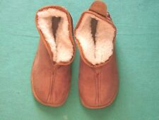 Lambswool Slippers, Lined M.Lambskin, Fur Slippers Size 40 - 45