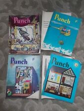 """""""PUNCH"""" MAGAZINES X 4 FEBRUARY 7th,28th, MARCH 21st, APRIL 4th 1962"""