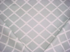 13-3/8Y SERENA LILY DIAMOND FOG LATTICE TRELLIS PRINT DRAPERY UPHOLSTERY FABRIC