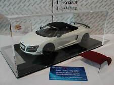 """FrontiArt F036-02 # Audi R8 GT Spyder Baujahr 2009 in """" weiß """" 1:18 Lim.Ed. 200"""