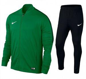 Nike Men's Full Tracksuit Academy16 Knit Dri-Fit Green Size S 2XL Sport Football