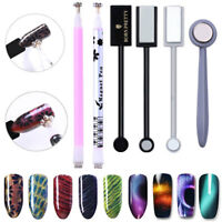 3D Magnetic Stick Nail Art Magnet Pen Cat Eyes UV Gel Polish Tools
