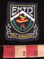 Vtg ENTR PRO ANIMABUS Canada Patch (? Quebec School ?) 83YC