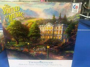 New Thomas Kinkade 'The Sound of Music' Puzzle 1000 piece 27 x 20