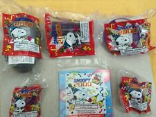 Wendy's Snoopy 2000 set of 5