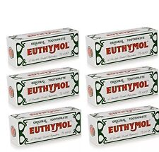 Euthymol Original Toothpaste Brand of Antiseptic - 6 X 75ml---05/2019 Expiry