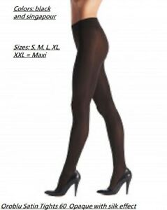 Oroblu Satin 60 tights, pantyhose, opaque, semi shiny, silky touch, soft