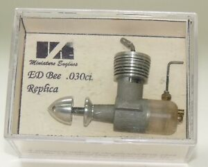 ED Bee diesel VA .030 new in box model airplane engine