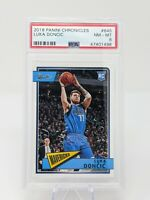 Luka Doncic Rookie Card #645 2018-19 Chronicles Classics RC PSA 8 Mint🔥📈