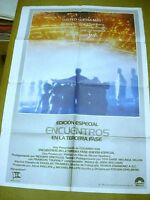 CLOSE ENCOUNTERS OF THE THIRD KIND SPANISH MOVIE POSTER 1980 STEVEN SPIELBERG !!