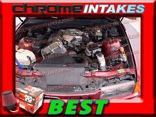 K&N+BLACK RED 92-95/1992 1993 1994 1995 BMW 318i 318is 318ti 1.8L AIR INTAKE KIT
