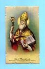 SANTINO ANTICO SAN AGOSTINO IMAGE PIEUSE - HOLY CARD SANTINI