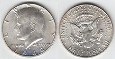 *Gertbrolen  ETATS-UNIS Demi-Dollar  KENNEDY 1968  DENVER  Numéro  9