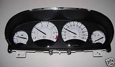 1998-2003 Chrysler Sebring white gauge cluster no lite