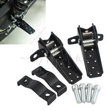 2 Pcs BICYCLE STEEL BLACK FOOT STEP PEGS STAND BEACH CRUISER LOWRIDER BMX BIKES