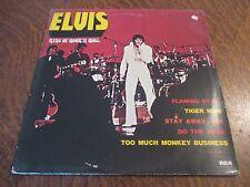 album 2 33 tours ELVIS PRESLEY ELVIS king of rock'n roll flaming star