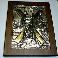 St. Andreas Andrew argent oklad icone Icon ICONA icone silver икона ikona