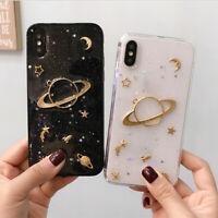 Star Phone case Flash glitter Full Soft TPU for iphone 6 7 8 plus x ks