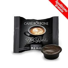 100 CAPSULE CAFFE' BORBONE MISCELA NERA DON CARLO A MODO MIO OR