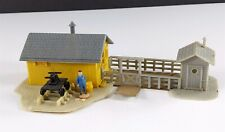 Life-Like Trackside Structures Handcar Shed Tool Shed HO Scale Building Built #2