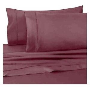 WAMSUTTA Dream Zone 725 TC Pima Cotton 2 (TWO) KING Pillow Shams Mauve / NEW
