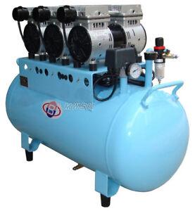 Best-unit 90L Dental Silent Oilless Air Compressor One Drive Five BD-103 LMWS