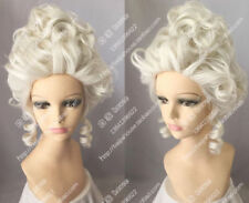 Aristocracy Queen Fashion Wig Marie Antoinette Cosplay Party Wig Hair