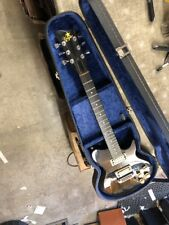 1970s Vega VE-24 Set Neck Electric Solid Body Guitar w/ orig Case - Nice /RARE