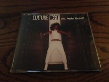 CULTURE BEAT MR. VAIN RECALL 3 MIX RARE OOP CD FREE SHIPPING NM