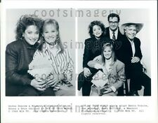 1988 Composite Actors in Out of This World TV Show Press Photo