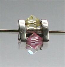 Genuine Sterling Silver and swarovski crystals TROLLBEADS SUMMER JEWEL, BIG  New