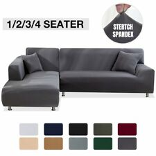 Elastic Stretch Sofa Cover 1/2/3/4 Sofa L Shaped Slipcover Couch Covers Universa