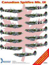 Canadian Spitfire Mk. IX 1/32 scale 32002 Hussar Productions decals
