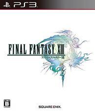 PS3 FINAL FANTASY XIII FF 13 Japan PlayStation 3 F/S
