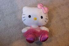 "6"" Ty Hello Kitty Sanrio Stuffed Plush Pink Tutu Ballet Leotard"