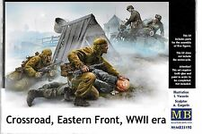 Master Box German, Russian Crossroad, Eastern Front, WWII, 5 Figures 1/35 190 ST
