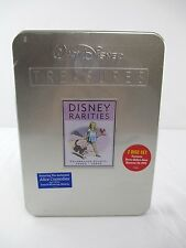 NEW SEALED Walt Disney Treasures Disney Rarities DVD Tin