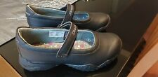 Skechers Girls Black Leather School Shoes Size 11 UK