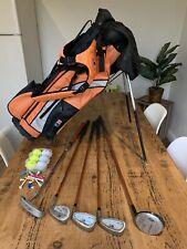 USKG U.S Kids Golf Junior Set & Bag - UL-24 Orange - Right Handed Ages 7-9