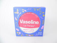 NEW Sealed Vaseline Lip Therapy Rosy Lips Exclusive Holiday Lip Tin - 0.6oz